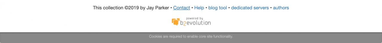 Default site skin
